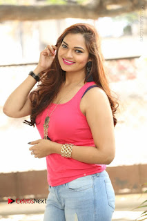 Tollywood Actress Ashwini Latest Stills in Ripped Jeans  0001.JPG