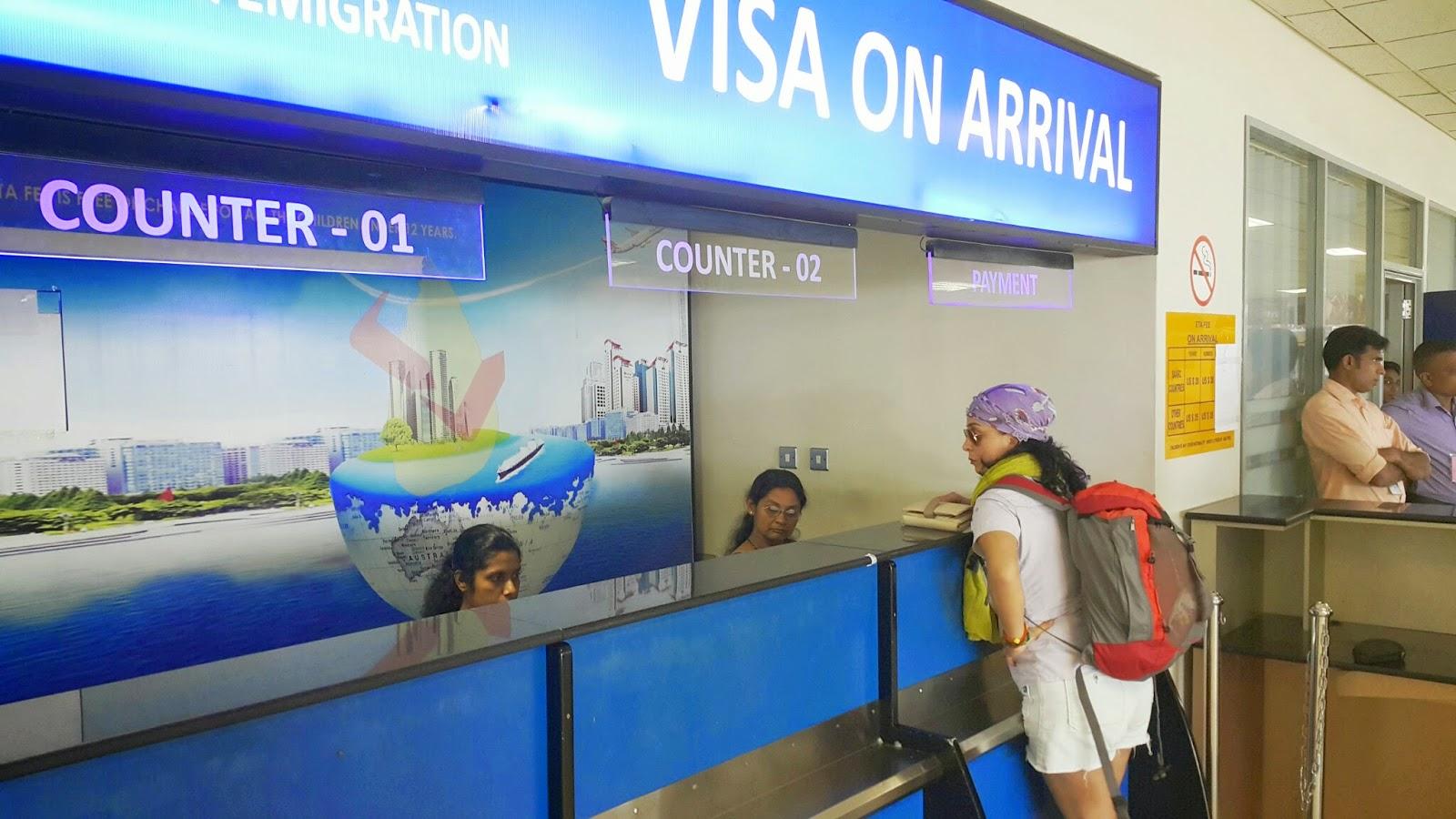 Sri Lanka vize