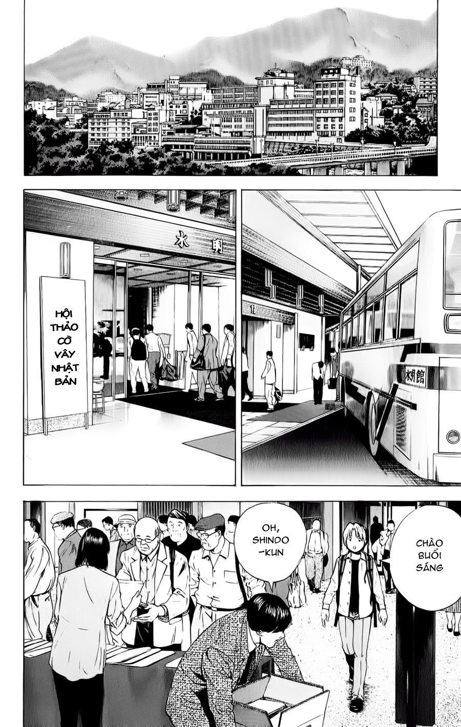 Hikaru No Go hikaru no go chap 123 trang 9
