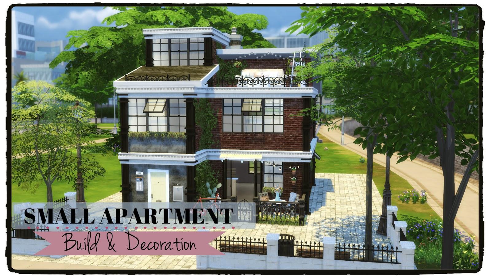 Sims 4 Small Apartment Dinha