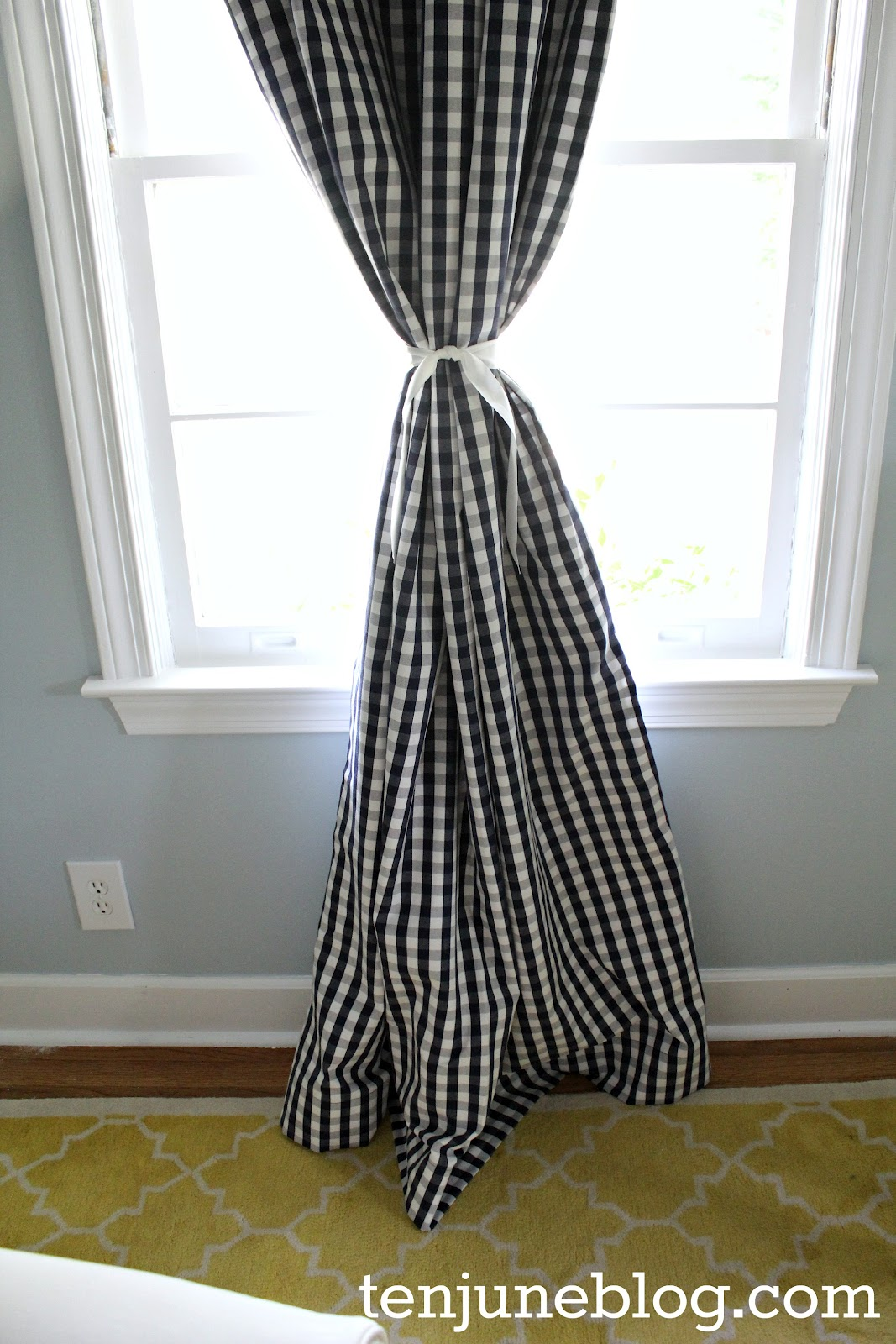 Ten June DIY Blackout Curtain Tutorial How to Make Awesome Nursery Curtains