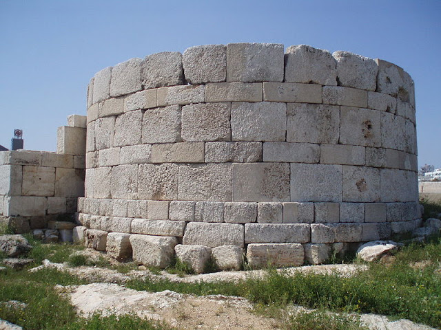 The Ietionian Gate, part of Piraeus port ancient walls, to be upgraded
