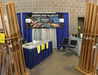 NorthPoint Paddles Booth - Set up and Ready