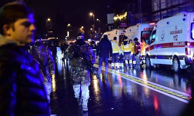 Ataque terrorista em boate deixa 35 mortos e 40 feridos em Istambul