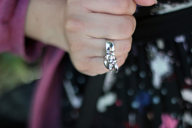 Crossroads Trading Co. Bunny Ring