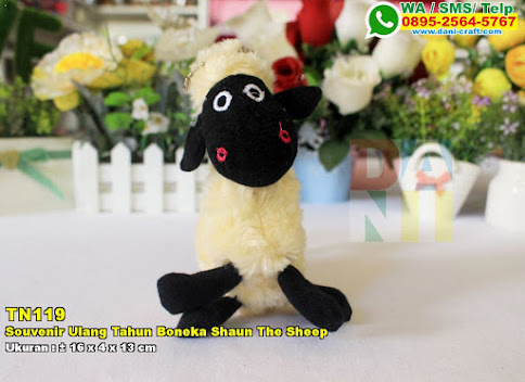 Souvenir Ulang Tahun Boneka Shaun The Sheep
