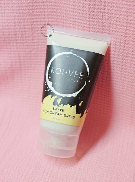 Review : Kohvee Story Coffee Cleansing Oil & Latte Sun Cream SPF25 by Jessica Alicia