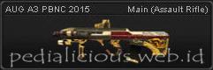 Senjata Point Blank AUG A3 PBNC 2015