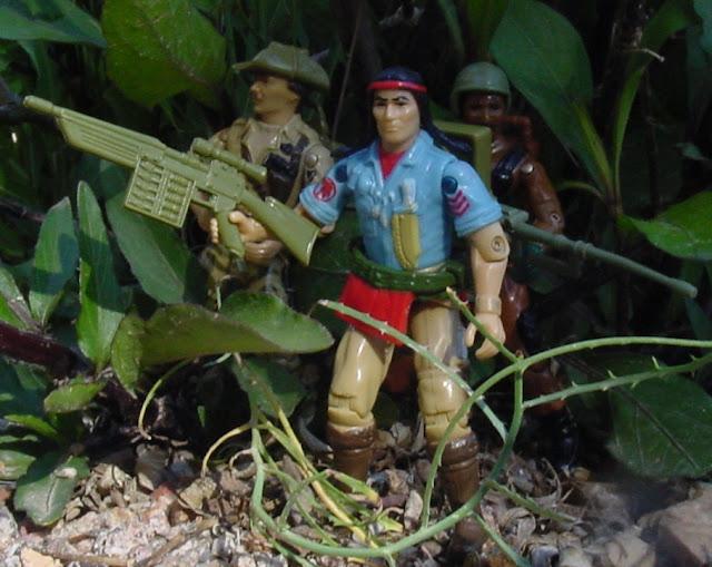 1984 Spirit Iron Knife, Recondo, Roadblock