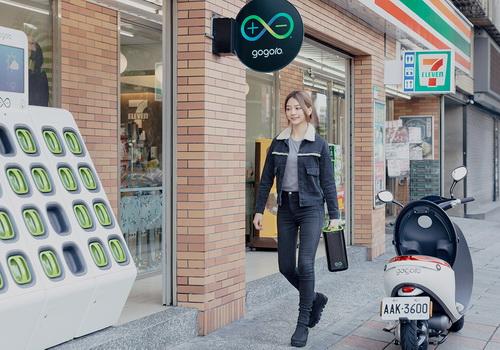 Tinuku Gogoro charging station raised $300 million Series C