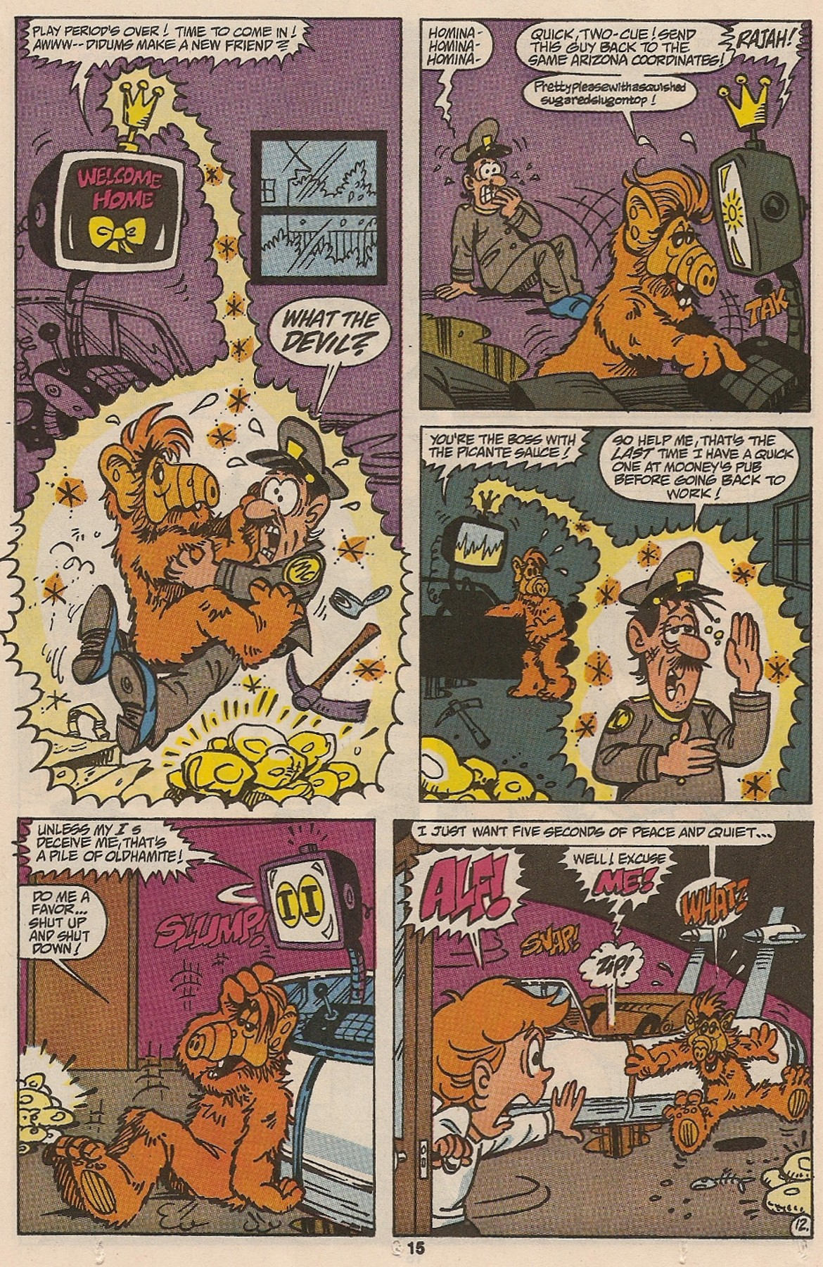 Read online ALF comic -  Issue #47 - 17