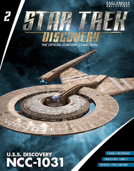 2 USS Discovery NCC 1031 Crossfield Class