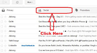 how to move emails from promotions, social to primary in gmail