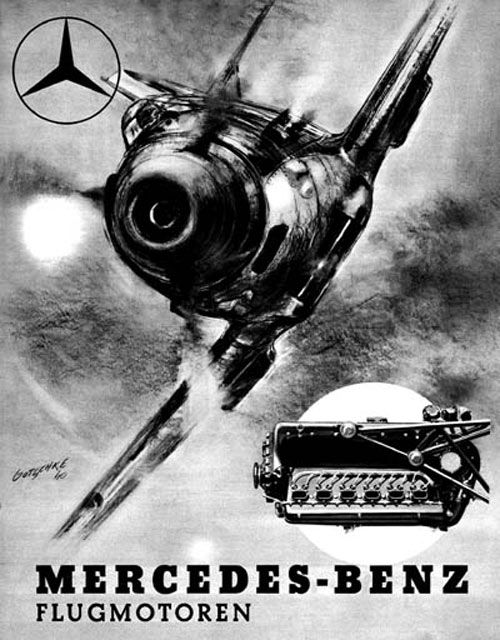 Mercedes-Benz Fascist airplane ads worldwartwo.filminspector.com