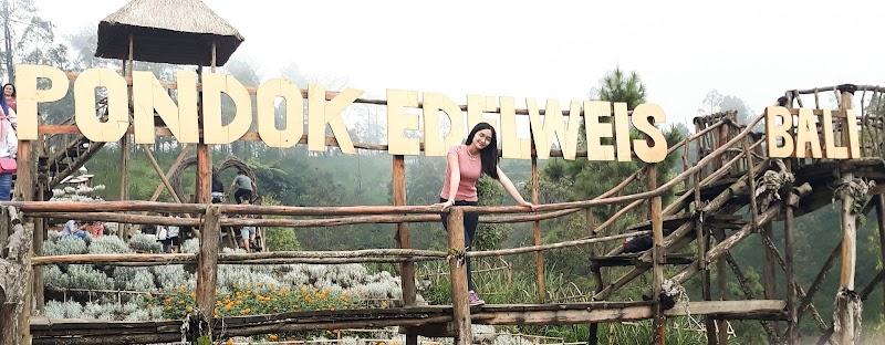 Momen Liburan Ke Taman Edelweis Bali