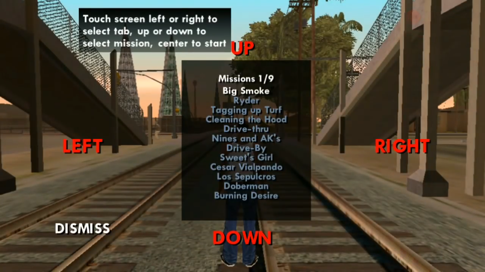 How to miss a mission in GTA (GTA)