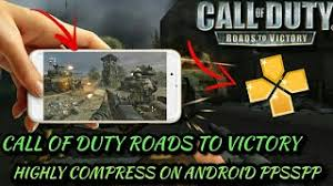 Call Of Duty Roads To Victory PSP ISO Highly Compressed 265MB