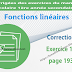 Correction - Exercice 13 page 193 - Fonctions linéaires