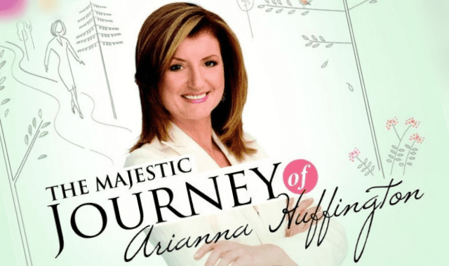 The Majestic Journey Of Arianna Huffington