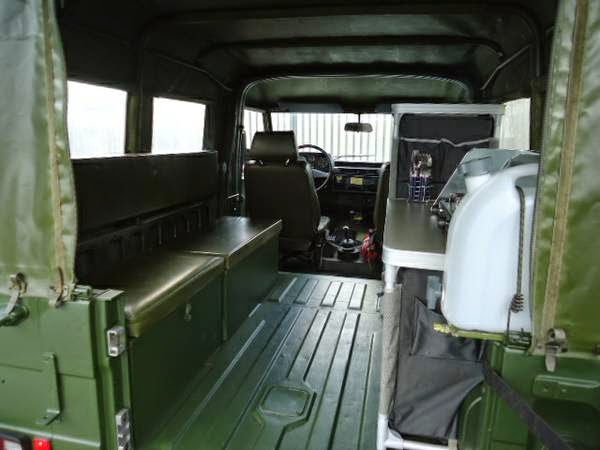 Mercedes Rv For Sale >> Used RVs 1986 Mercedes-Benz G-class With Camping Equipment ...