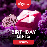 Birthday Gifts from IGP