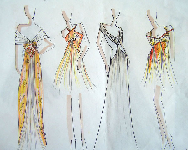 Fashion Designs Sketches Easy