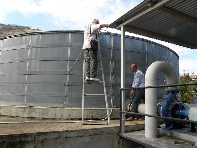Η δεξαμενή της Αγ. Τριάδας υδροδοτήθηκε με πόσιμο νερό από τις πήγες της Λέρνης – Αμυμώνης