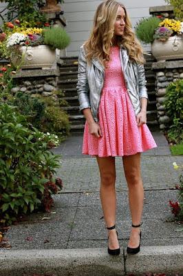 vestido rosa princesa elegante
