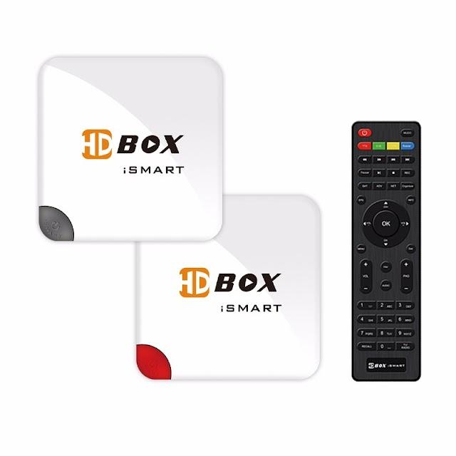 HDBOX iSMART NOVA ATUALIZAÇÃO - 08/08/2017