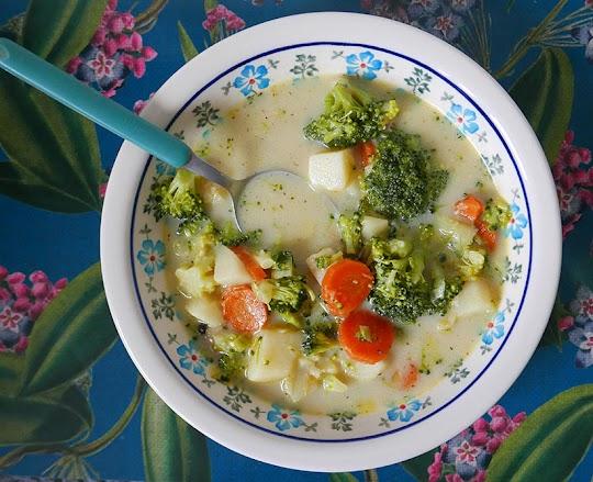 Klasyczna zupa brokułowa