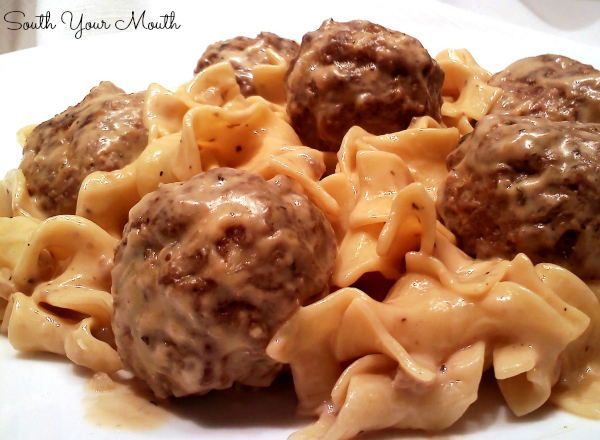 Shortcut Swedish Meatballs