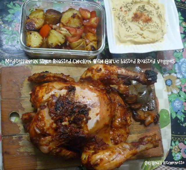 Lemon Chicken Mediterranean Style: G'Gina's Kitchenette: Mediterranean Style Roasted Chicken