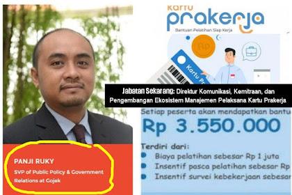 MENGULITI Argumen PANJI RUKY (Project Management Office Kartu Prakerja)