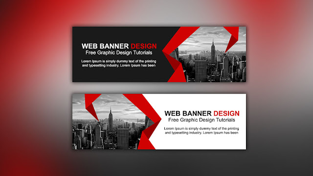 Design corporate roll up banner in photoshop graphic design.