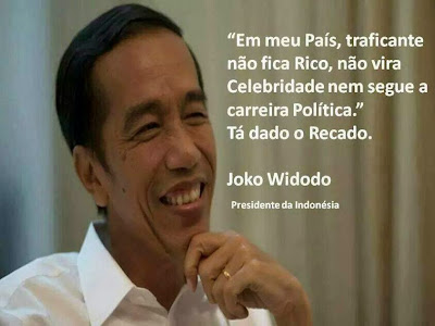 Resultado de imagem para Presidente da Indonésia fala mal do Brasil