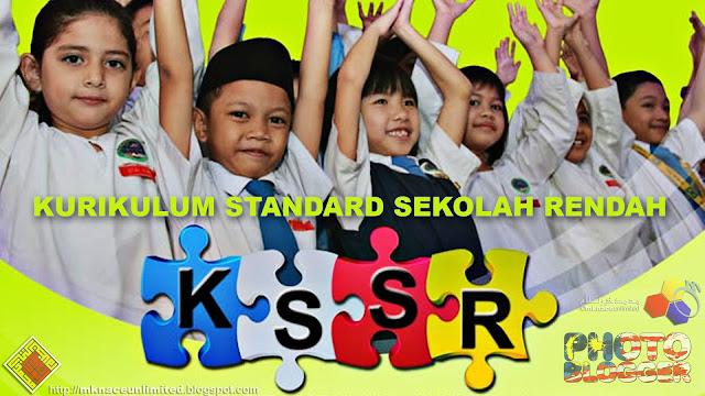 Infografik Kurikulum Standard Sekolah Rendah KSSR
