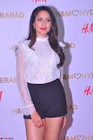 Pragya Jaiswal in lovely Black Mini Skirt and White Transparent Shirt ~  Exclusive 035.JPG