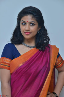 Supriya in Pink Saree Spicy Pics 020.JPG