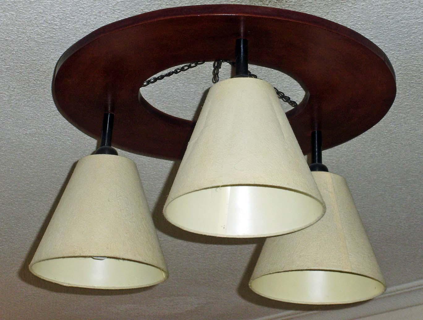 Hacer una lmpara de techo DIY sencilla y econmica