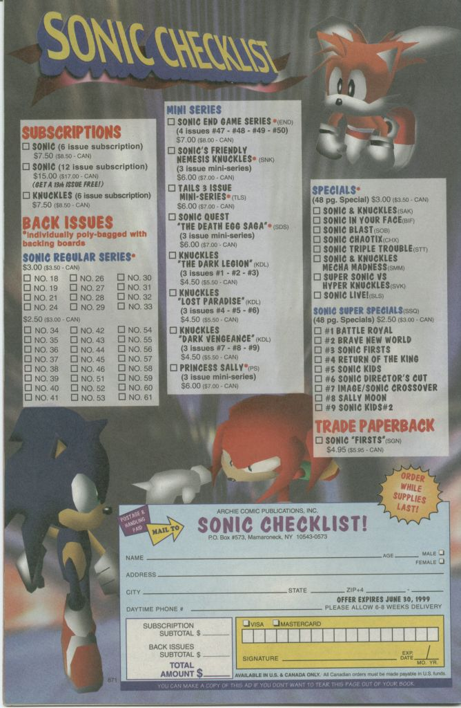 Read online Sonic The Hedgehog comic -  Issue #73 - 34