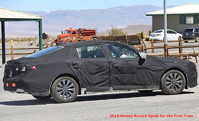 2018 Honda Accord Spied for the First Time