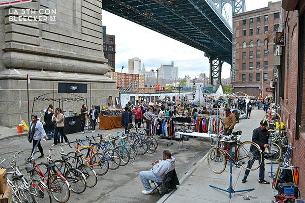 mercadillos en Nueva York brooklyn flea dumbo