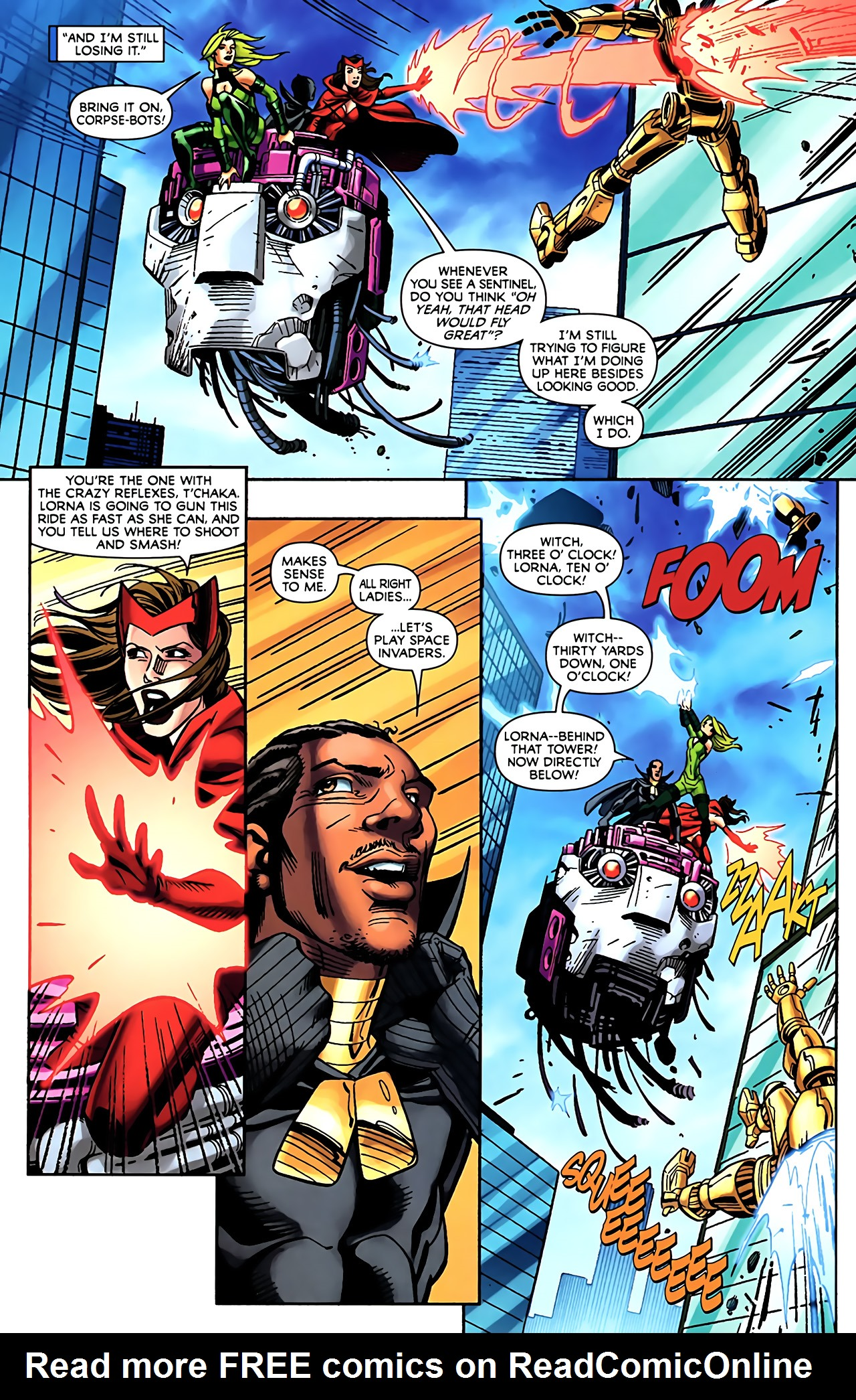 Read online Exiles (2009) comic -  Issue #5 - 17