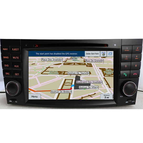 After market head unit with dvd player and navigation for Mercedes benz navigation dvd download