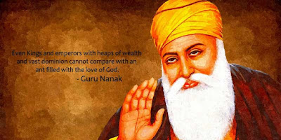 Lets us celebrates janam divas of Guru Nanak Dev ji