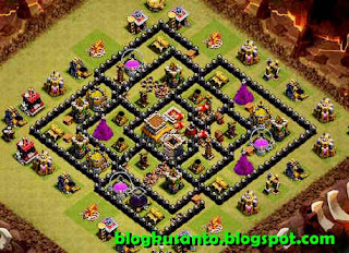 Base COC th 8 Anti Naga dan Gowipe 04