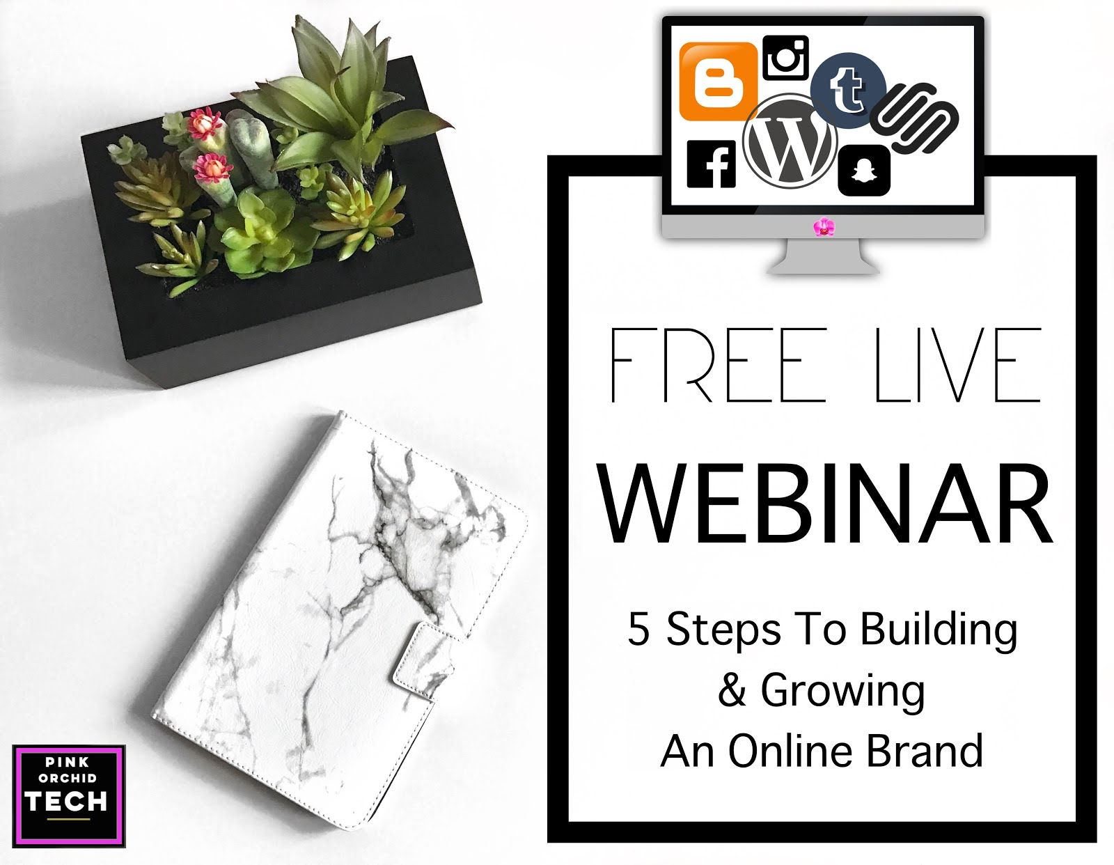 5-Steps-To-Build-And-Grow-An-Online-Brand-Webinar-Vivi-Brizuela-PinkOrchidTech