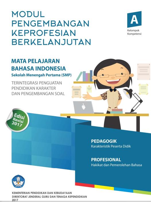 MODUL PKB GURU BAHASA INDONESIA SMP