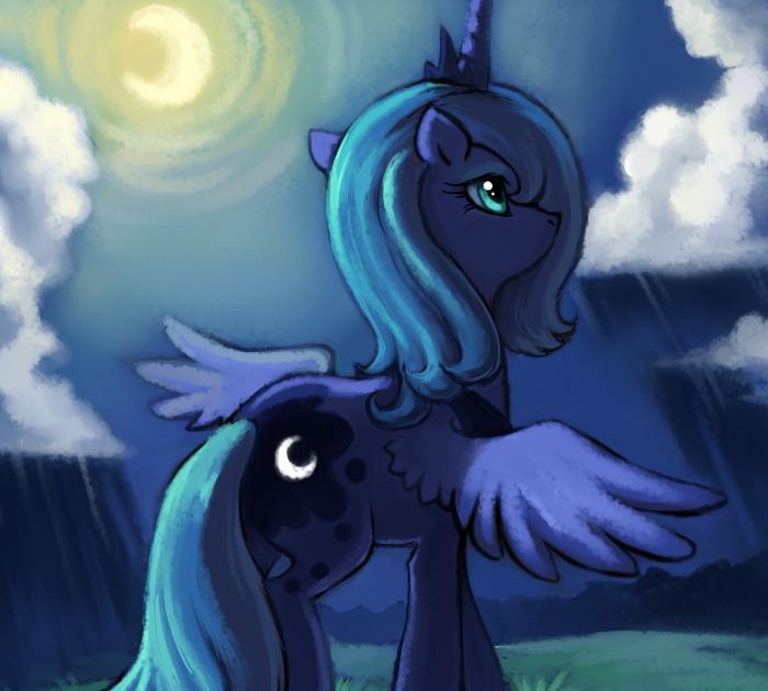 Equestria Daily Mlp Stuff Story Lunar Eclipse