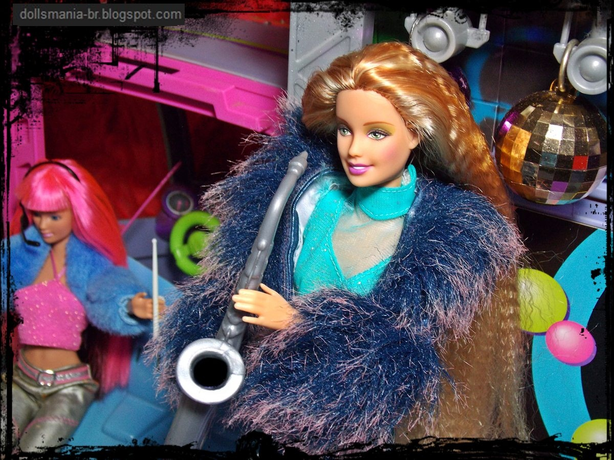 Dolls: Barbie Jam'n Glam Tour Bus & Barbie Pop Sensation ...